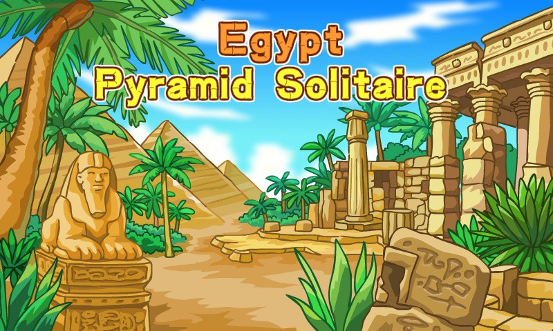 Play Egypt Pyramid Solitaire Fullscreen Ad Free Freegames Org