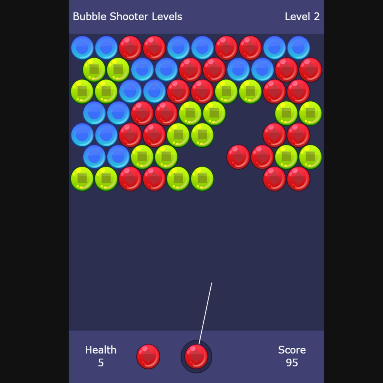 Bubble Shooter Mit Level