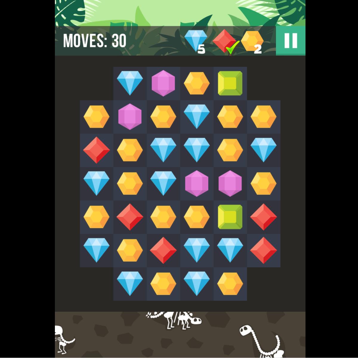 Jewel Hunt Game