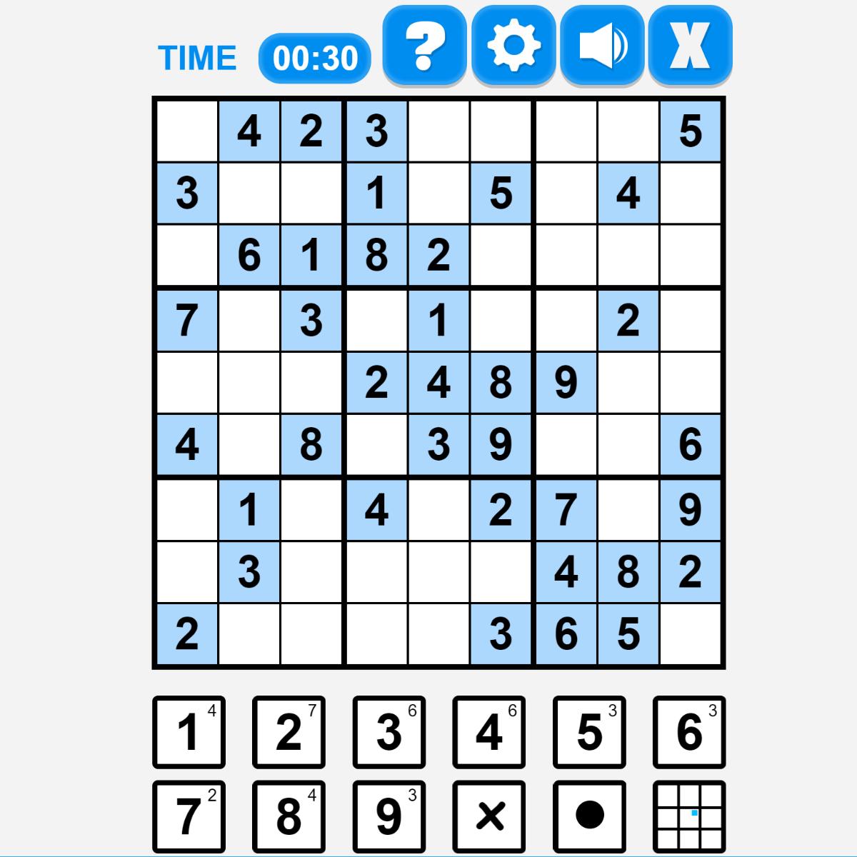 Play Sodoku Online